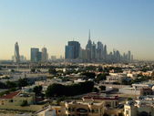 Dubai Downtown District, UAE — Stock Photo