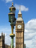 Big Ben and Houses of Parliament in London, UK. — Stock Photo