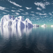 Icebergs — Stock Photo