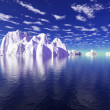 Stock Photo: Icebergs