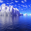 Stock Photo: Iceberg