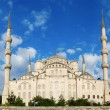 Blue Mosque, (Sultanahmet Camii — Stock Photo #14542327