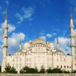 The Blue Mosque, (Sultanahmet Camii — Stock Photo
