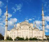 The Blue Mosque, (Sultanahmet Camii — Stock Photo