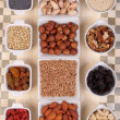 Lot of nuts — Stock Photo