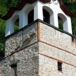 antigo relógio da torre da igreja — Foto Stock