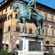 Stock Photo: Statue of Ferdinando I de' Medici