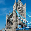Tower Bridge in London. — Stok fotoğraf