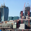 LONDON, UK - MAY 2: 20 Fenchurch Street in construction on May 2, 2013, in London, UK. Rafael Vinoly designed building (the Walkie-Talkie) completion due April 2014 with tenants Markel and Kiln. — Stock Photo