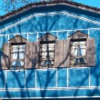 Old blue house — Stock Photo
