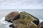 South Stack Lighthouse on Anglesey — Stock Photo