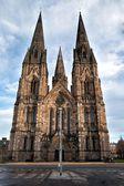 Gotische cathedrale in edinburg, schotland — Stockfoto