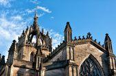 Tornen i medeltida slott — Stockfoto
