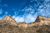 Edinburgh castle and fortress — Stock Photo