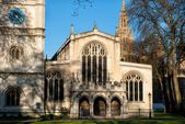 Chapel in Westminster abbey — Stock Photo