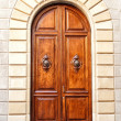 Stock Photo: Beautifull wooden door