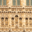 The Houses of Parliament. London. UK, detail — Zdjęcie stockowe