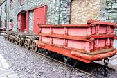 Wagon used in mine — Stock Photo
