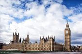Houses of the British Parliament — Stockfoto