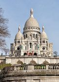 Basilica Sacre Coeur in Paris, France — Stock Photo