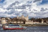The historic castle Tower of London — Stock Photo