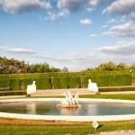������, ������: Fountain in Belvedere gardens Vienna