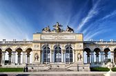 Gloriette pavilion in Vienna — Stockfoto