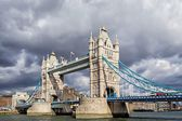Tower Bridge in London. — 图库照片