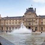 Louvre museum in Paris — Stock Photo #50622241