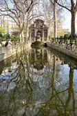 The Medici Fountain, a monumental fountain in the, Paris — Stock Photo