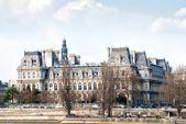 The Hotel de Ville, the City Hall of Paris  — Stock Photo