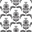Stock Vector: Baroque pattern