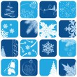 Christmas icon set - Vettoriali Stock 