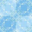 Seamless Snowflake Wallpaper - Image vectorielle
