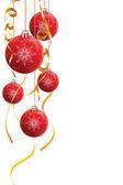Adornos de navidad — Vector de stock