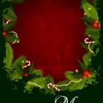 Merry Christmas Greeting Card — Stock Vector #13241549