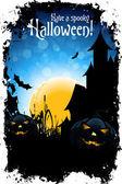 Halloween Party — Stock Vector
