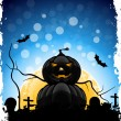 Royalty-Free Stock Vector: Grungy Halloween Background