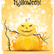 Grungy Halloween Background — Vector de stock #13378717