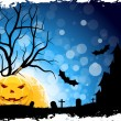 Royalty-Free Stock Obraz wektorowy: Grungy Halloween Background
