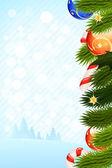 Szablon kartki świąteczne — Wektor stockowy