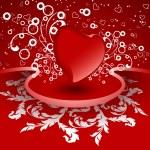 kreative Valentinstag-Karte — Stockvektor  #1776329