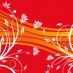Floral design vector — Stock Vector #1828174