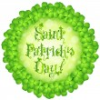 St. Patricks Day Card — Stock Vector