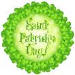 St. Patricks Day Card — Stock Vector #20327125