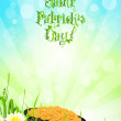 Saint Patricks Day Background - Imagen vectorial
