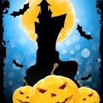 Grungy Halloween Background — Stock Vector #27370007