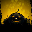 Halloween Background with Pumpkins — Stock Vector #30947523