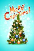 Cartão de natal — Vetor de Stock