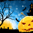 Grungy Halloween Background — Stock Vector #50782973